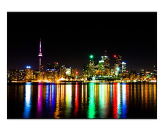 Toronto Skyline Night (thelearningcurvedotca) Tags: city travel vacation urban lake toronto ontario canada color building tower tourism colors beautiful silhouette skyline architecture modern skyscraper canon buildings dark landscape harbor colorful downtown glow cityscape skyscrapers bright artistic metro outdoor vibrant background centre scenic landmark tourist canadian shore highrise backdrop metropolis glowing tall concept stylish iamcanadian cans2s wwwareamagazinecom t1i blogtophoto mygearandme