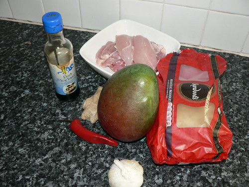 Fruity Chicken Stir Fry - Ingredients