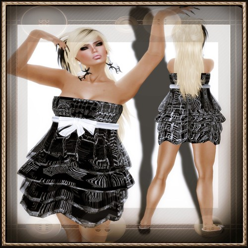 A&A Fashion Dolores [Sculpted]Dress Black