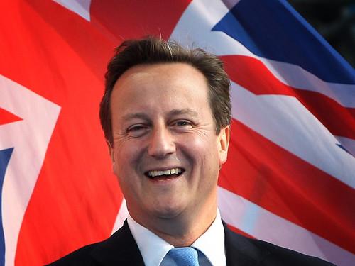 David Cameron in Trafalgar Square