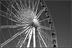 Sky Wheel (c.aalice) Tags: sky white ontario canada black wheel ferris christine niagra falls mcpherson