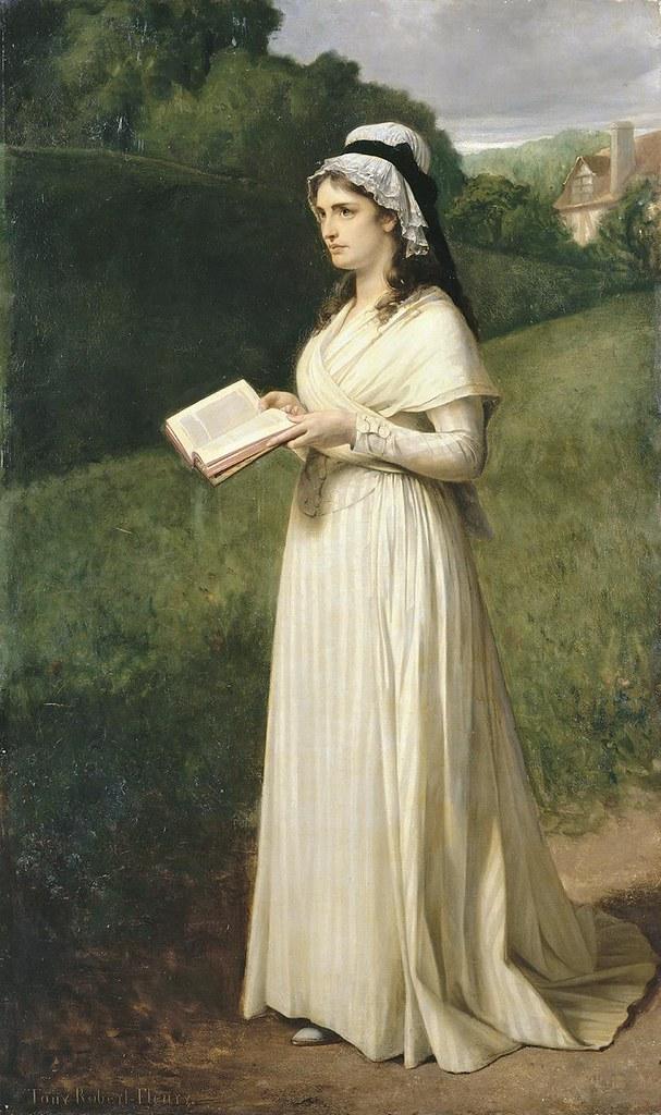 Tony Robert-Fleury, Charlotte Corday à Caen en 1793