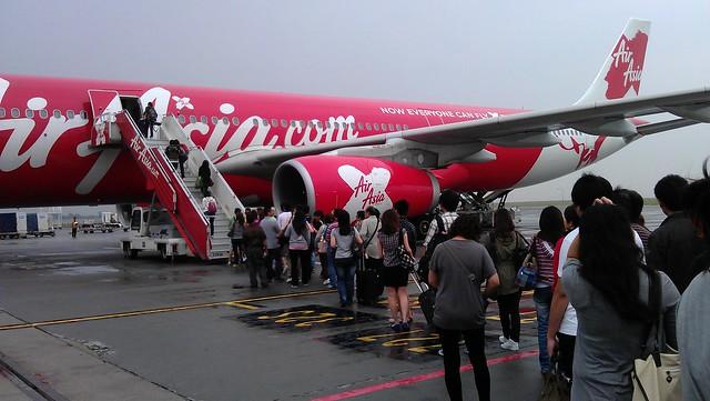 AirAsia X at LCCT, Sepang