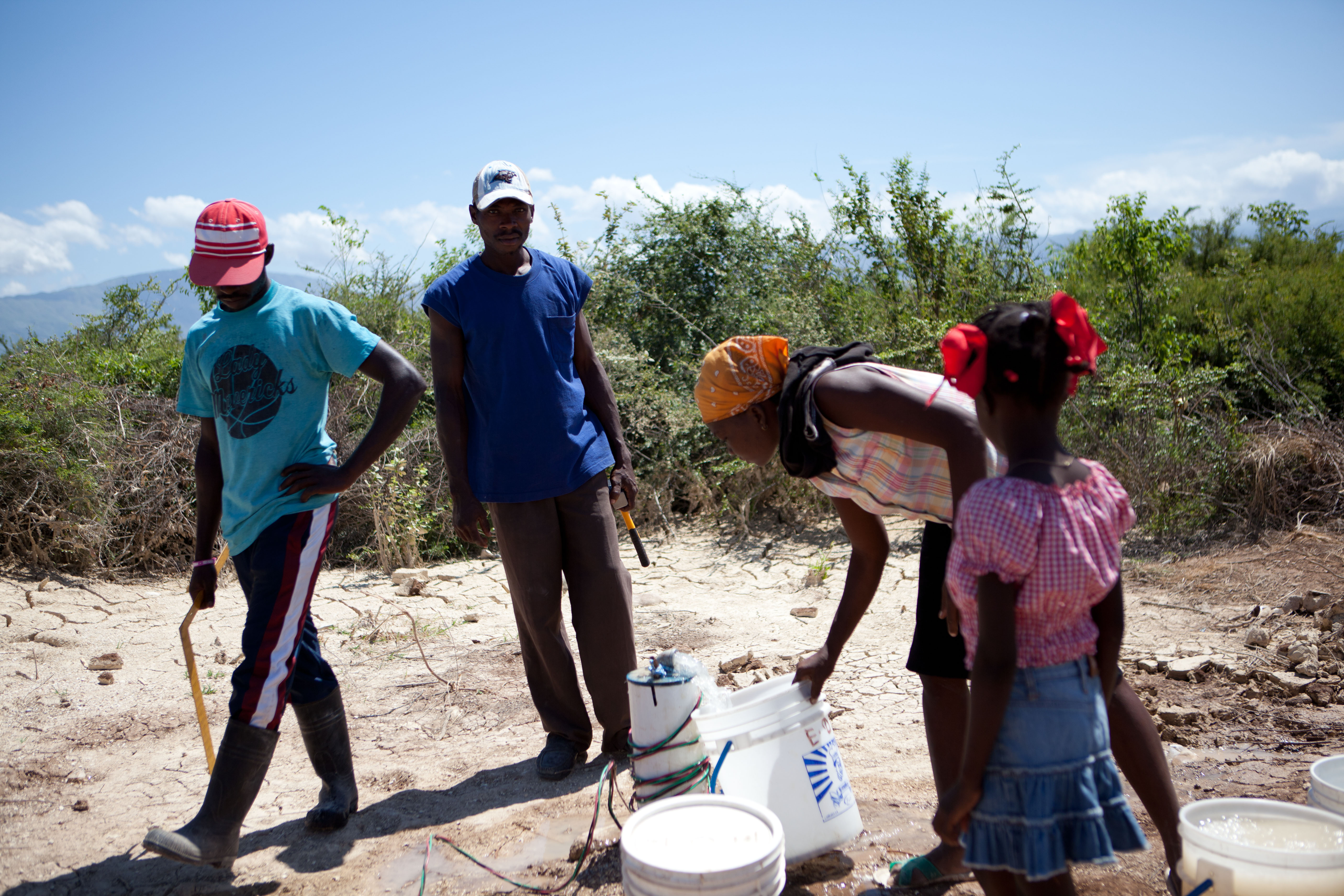2011 아이티단기선교 건축현장 (4)