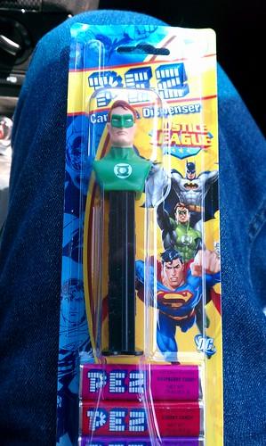 Ptw Green Lantern Pez
