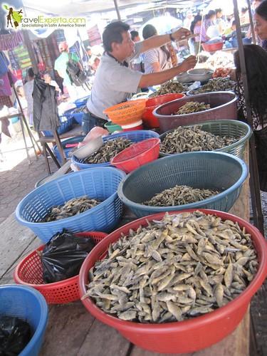 Santiago Market Atitlan Dry Fish