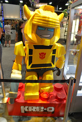 San Diego Day 4 - Friday (Crimson Devices) Tags: sandiego bumblebee transformers legos blocks comiccon autobots optimusprime sdcc decepticons 2011 kreo sdcc2011