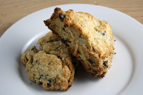 Brown Sugar and Chocolate Chunk Scones