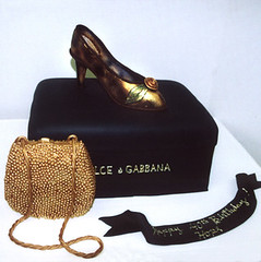 "<p>""Evening Bag with Fancy Shoe &amp; Edible Box"" </p>"