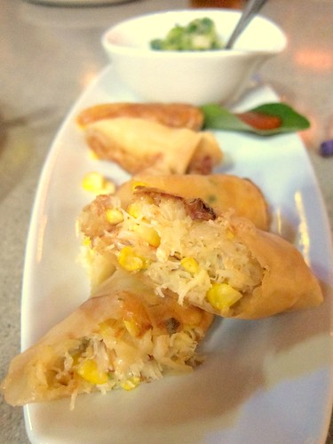 Corn Crab Roll