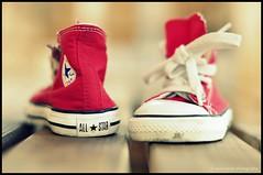 5 Studded Star (Anna Hwatz Photography) Tags: red star shoes sneakers converse allstar chucks scavengechallenge