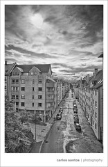 "Norway (Carlos ""Grury"" Santos) Tags: sunset norway landscape bergen hdr blackwhitephotos vertorama grury"