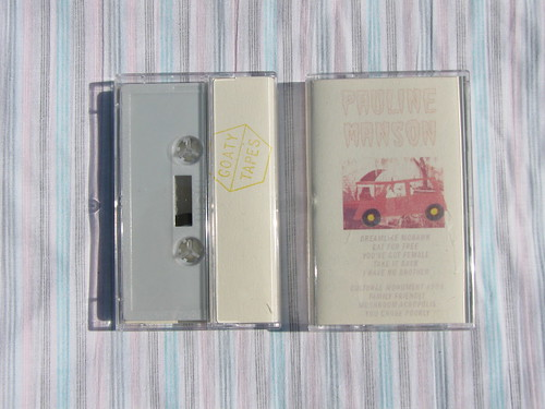 Pauline Manson - Wasted To Oblivion/999 - Goaty Tapes