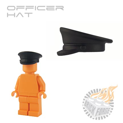 Officer Hat - Black