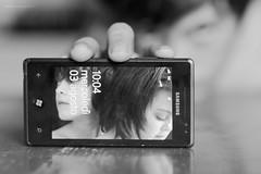 3 agosto (isabella colucci) Tags: bw bn cellulare telefono diario sfondo immagine giorno quotidiano cronaca enfantsterribles
