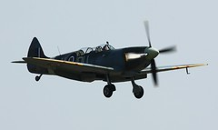 The Grace Spitfire LF IXc ML407 (Lightningboy2000) Tags: aircraft aviation duxford spitfire supermarine supermarinespitfire ml407 airmuseums ww2fighters thefightercollection thegracespitfire carolyngrace lfixc thegracespitfirelfixcml407