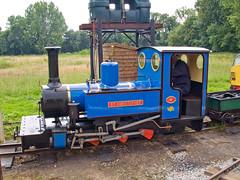 St. Chistopher (Gerry Balding) Tags: england norfolk trains steam engines locomotives eastanglia narrowgauge stchristopher bressingham uksteam waveneyvalleyrailway