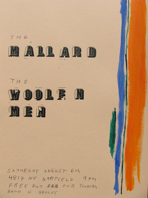 The Mallard/The Woolen Men, August 6th