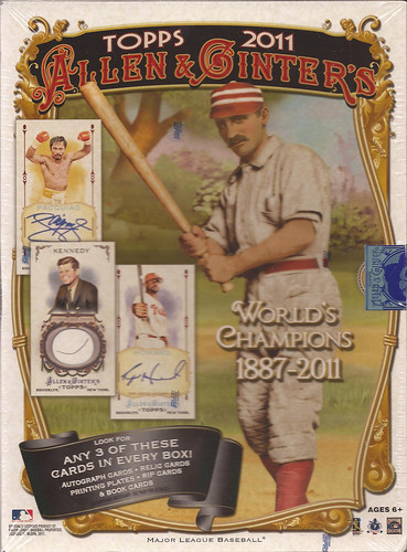 2011 Topps Allen and Ginter box