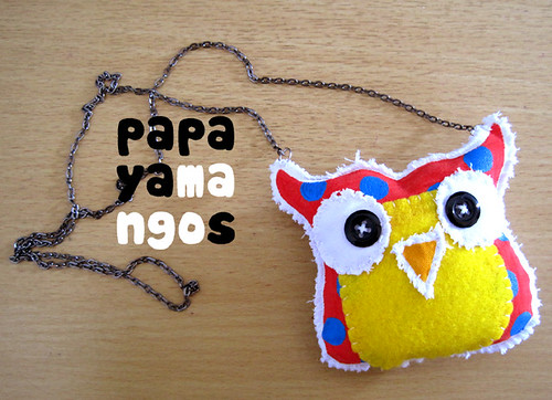 owl necklace 2