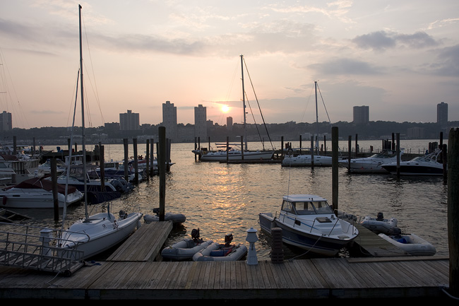 Sunset, Boat Basin