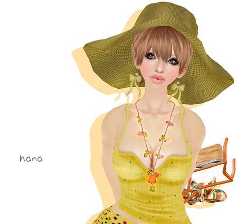 **YBR Candy Necklace (Tea)(40L)