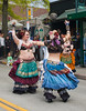 045 (Fearless Zombie) Tags: seattle washington dance colorful dancing streetperformers vibrant performance performing sensual belly exotic wa perform elegant universitydistrict theave streetfair skirts bellydancers streetperformance udistrict layered udistrictstreetfair universityway samayatribe