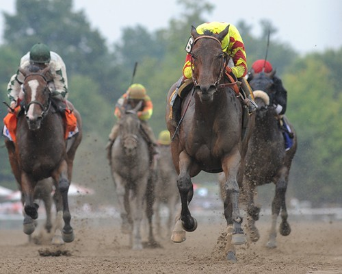 Turbulent Descent - 2011 Test Stakes (G1)