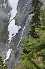 Snowmelt waterfall Photo