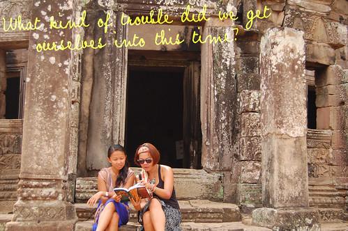 Sole Sisters Angkor