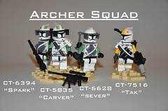 Archer Squad ([Renegade]) Tags: from trooper star lego 10 hell corps elite mission wars carver archer squad clone spark productions sandbox sever tak renegade 305 geonosis 457th brickjet