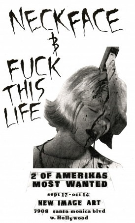 NECKFACE x FUCK THIS LIFE by billy craven