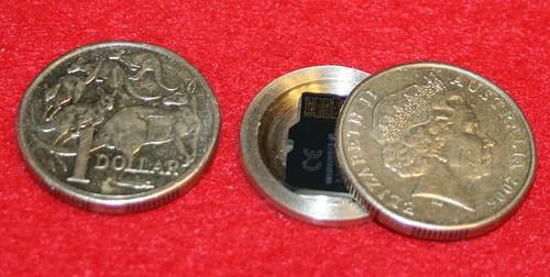 MicroRoo Spy Coin