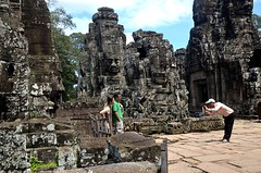Japanese 3.  Bayon (Claire Pismont) Tags: voyage travel color temple colorful asia cambodge cambodia earth bayou asie angkor couleur viajar documentory earthasia pismont clairepismont