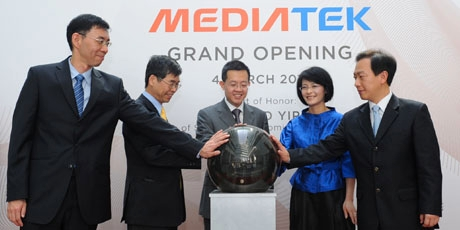 Opening of MediaTek Singapore