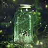 Fairy Lantern (Shawn Van Daele) Tags: wedding toronto green yellow photomanipulation woodland square engagement twilight woods magic pixie elf fairy fairies pixies spark firefly faerie faeries fireflies shawnvandaele renaissancestudios —obramaestra—
