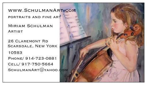 Miriam Schulman New York Artist