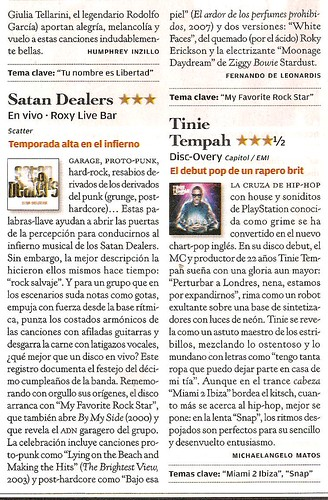 "Reseña Satan Dealers disco ""En Vivo - Roxy Live Bar"""