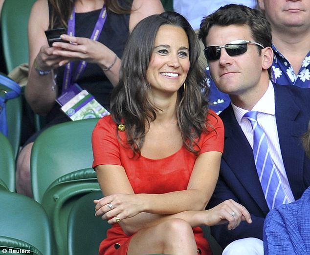 Pippa Middleton causes a stir on Wimbledon's Centre Court yet again   7