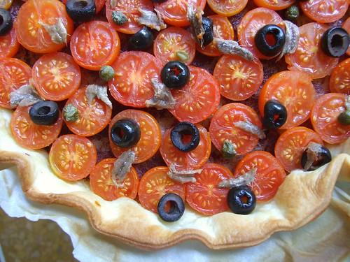 torta ai pomodorini