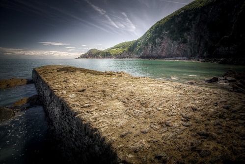 488/1000 - Woody Bay Jetty 1 by Mark Carline