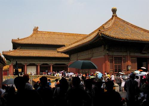 Jiao Tai Dian Crowd, Forbidden City, Beijing
