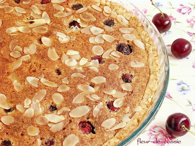 пирог миндально-вишневый 1