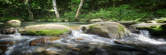 Flowing Memories Panorama (Shannon Rogers Photography) Tags: trees panorama green nature canon painting landscape waterfall moss rocks painted memories hdr hdri flowingwater watyer shannonrogers canon7d watersape shannonrogersphotography flowingmemories