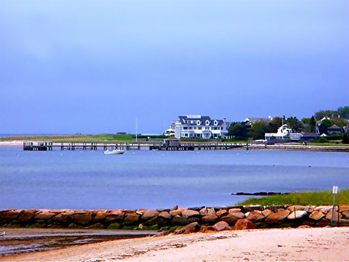 Sea St Beach, with the Kennedy Compound in the background