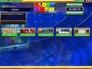 SlotoCash Casino Lobby