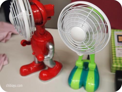 ロボット型扇風機 ベルメゾン