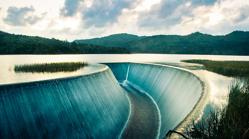Huia Dam - New Zealand Landscape