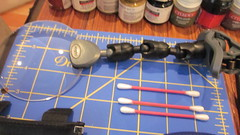 Modding supplies (lego+minecraft=Awsome!) Tags: mod paint lego magnifyingglass qtip