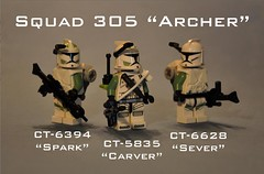Archer Squad ([Renegade]) Tags: promotion star lego 9 corps elite mission wars carver archer squad spark productions upgrade sever renegade 305 epidemic 457th nelvaan brickjet